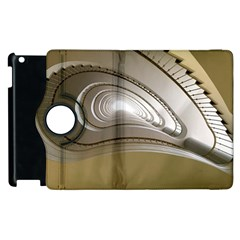 Staircase Berlin Architecture Apple Ipad 2 Flip 360 Case by BangZart