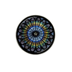 Rose Window Strasbourg Cathedral Hat Clip Ball Marker by BangZart