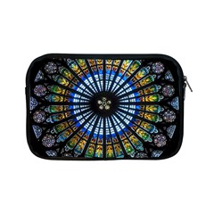Rose Window Strasbourg Cathedral Apple Ipad Mini Zipper Cases by BangZart