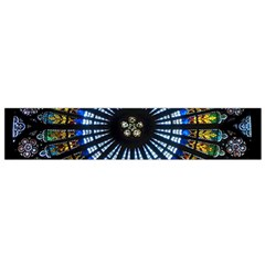 Rose Window Strasbourg Cathedral Small Flano Scarf