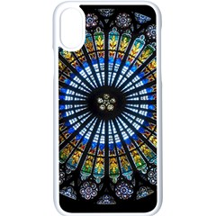 Rose Window Strasbourg Cathedral Apple Iphone X Seamless Case (white)