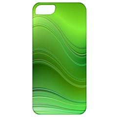 Green Wave Background Abstract Apple Iphone 5 Classic Hardshell Case