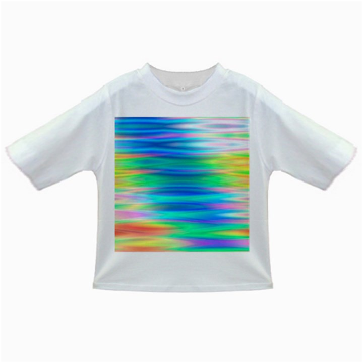 Wave Rainbow Bright Texture Infant/Toddler T-Shirts
