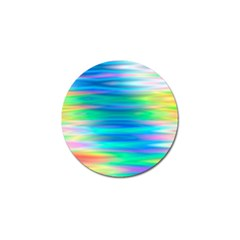 Wave Rainbow Bright Texture Golf Ball Marker by BangZart