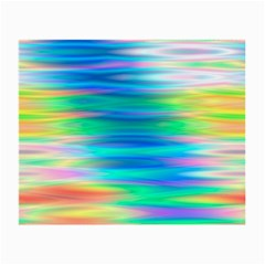 Wave Rainbow Bright Texture Small Glasses Cloth