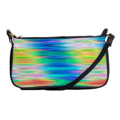 Wave Rainbow Bright Texture Shoulder Clutch Bags by BangZart