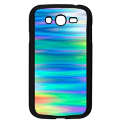 Wave Rainbow Bright Texture Samsung Galaxy Grand Duos I9082 Case (black)