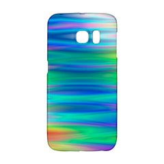 Wave Rainbow Bright Texture Galaxy S6 Edge