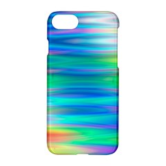 Wave Rainbow Bright Texture Apple Iphone 8 Hardshell Case by BangZart