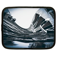 Architecture Modern Skyscraper Netbook Case (xl)  by BangZart
