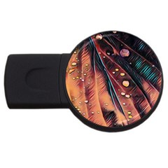 Abstract Wallpaper Images Usb Flash Drive Round (2 Gb) by BangZart