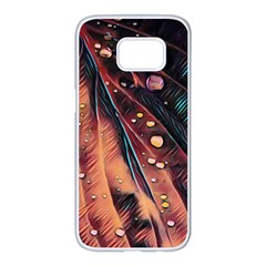 Abstract Wallpaper Images Samsung Galaxy S7 Edge White Seamless Case
