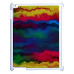 Watercolour Color Background Apple Ipad 2 Case (white)