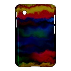 Watercolour Color Background Samsung Galaxy Tab 2 (7 ) P3100 Hardshell Case