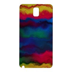 Watercolour Color Background Samsung Galaxy Note 3 N9005 Hardshell Back Case