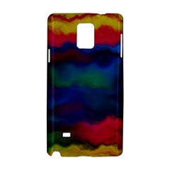 Watercolour Color Background Samsung Galaxy Note 4 Hardshell Case by BangZart