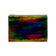 Watercolour Color Background Cosmetic Bag (medium)  by BangZart