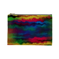 Watercolour Color Background Cosmetic Bag (large)