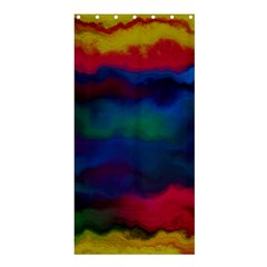 Watercolour Color Background Shower Curtain 36  X 72  (stall)