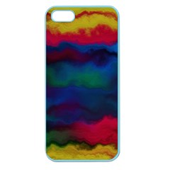 Watercolour Color Background Apple Seamless Iphone 5 Case (color)