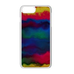 Watercolour Color Background Apple Iphone 8 Plus Seamless Case (white)