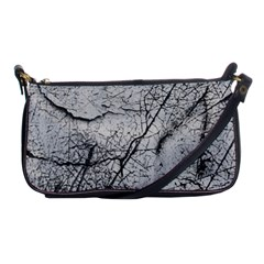 Abstract Background Texture Grey Shoulder Clutch Bags by BangZart