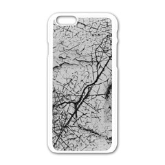 Abstract Background Texture Grey Apple Iphone 6/6s White Enamel Case