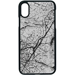 Abstract Background Texture Grey Apple Iphone X Seamless Case (black)