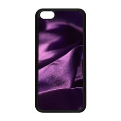 Shiny Purple Silk Royalty Apple Iphone 5c Seamless Case (black) by BangZart