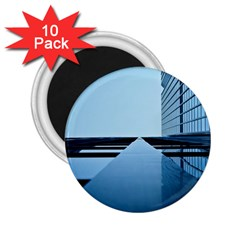 Architecture Modern Building Facade 2 25  Magnets (10 Pack)  by BangZart