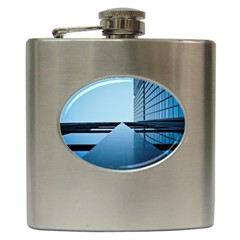 Architecture Modern Building Facade Hip Flask (6 Oz)