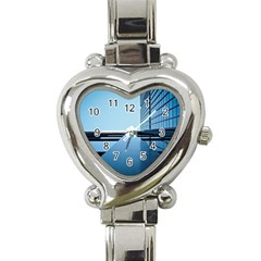 Architecture Modern Building Facade Heart Italian Charm Watch