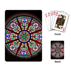 Church Window Window Rosette Playing Card
