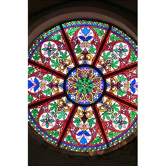 Church Window Window Rosette 5 5  X 8 5  Notebooks