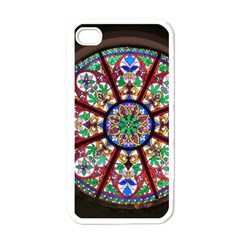 Church Window Window Rosette Apple Iphone 4 Case (white)