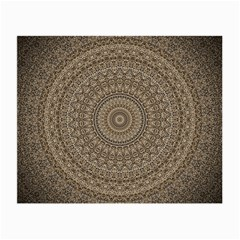 Background Mandala Small Glasses Cloth