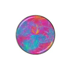 Abstract Fantastic Fractal Gradient Hat Clip Ball Marker (4 Pack)