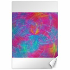 Abstract Fantastic Fractal Gradient Canvas 20  X 30