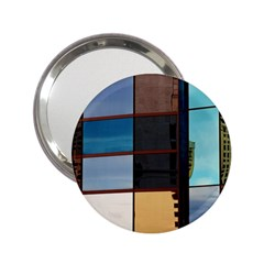 Glass Facade Colorful Architecture 2 25  Handbag Mirrors