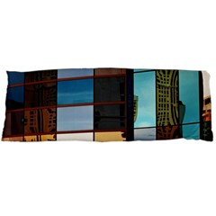 Glass Facade Colorful Architecture Body Pillow Case Dakimakura (two Sides)