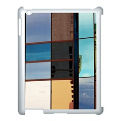 Glass Facade Colorful Architecture Apple Ipad 3/4 Case (white) by BangZart