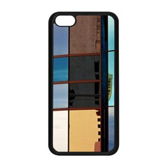 Glass Facade Colorful Architecture Apple Iphone 5c Seamless Case (black)