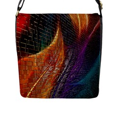 Graphics Imagination The Background Flap Messenger Bag (l)