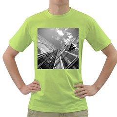 Architecture Skyscraper Green T Shirt