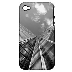 Architecture Skyscraper Apple Iphone 4/4s Hardshell Case (pc+silicone) by BangZart