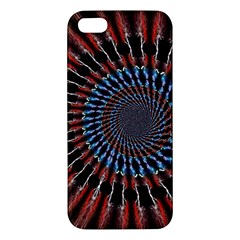 The Fourth Dimension Fractal Noise Apple Iphone 5 Premium Hardshell Case