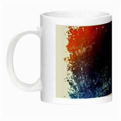 Colorful Pattern Color Course Night Luminous Mugs