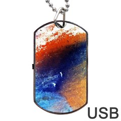 Colorful Pattern Color Course Dog Tag Usb Flash (two Sides) by BangZart