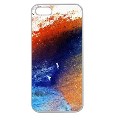 Colorful Pattern Color Course Apple Seamless Iphone 5 Case (clear)