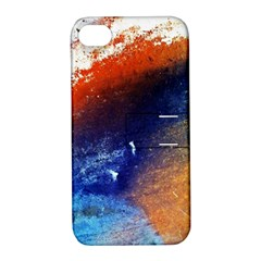 Colorful Pattern Color Course Apple Iphone 4/4s Hardshell Case With Stand
